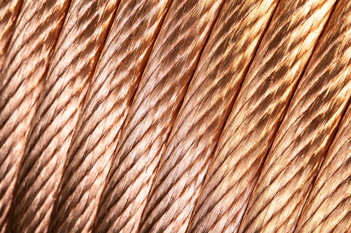 Copper or tinned conductors