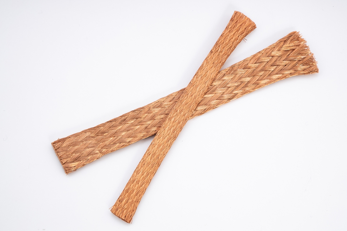 Extra-Flexible red copper or tinned braids