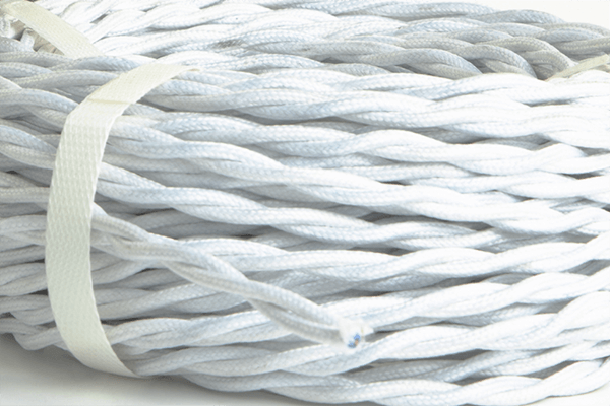 Textile braid for electric conductor